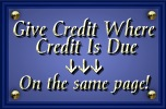 Give Credit Where Credit Is Due-Find Out Why